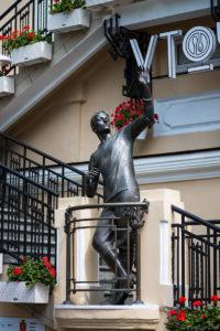 Памятник Уточкину в Одессе