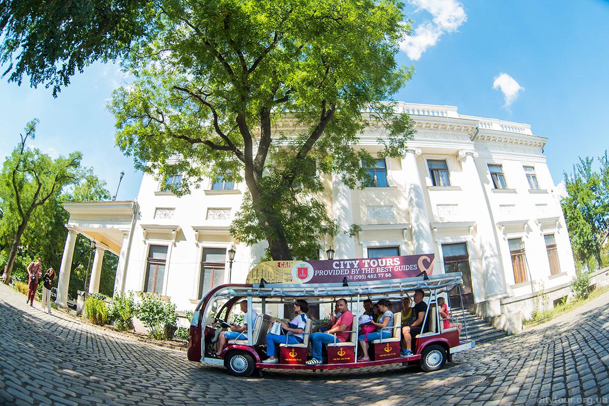 Экскурсия по Одессе на электромобилях