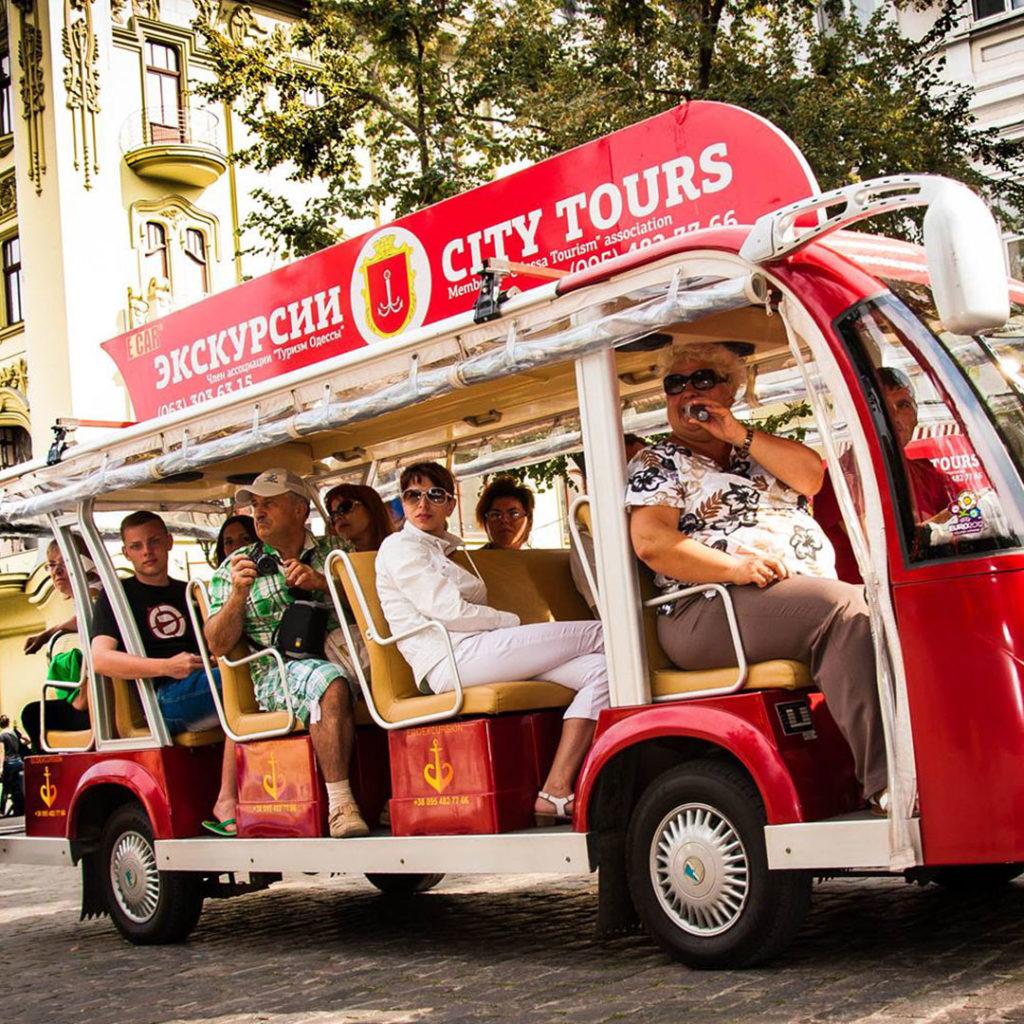 Интересные экскурсии по Одессе на электромобилях