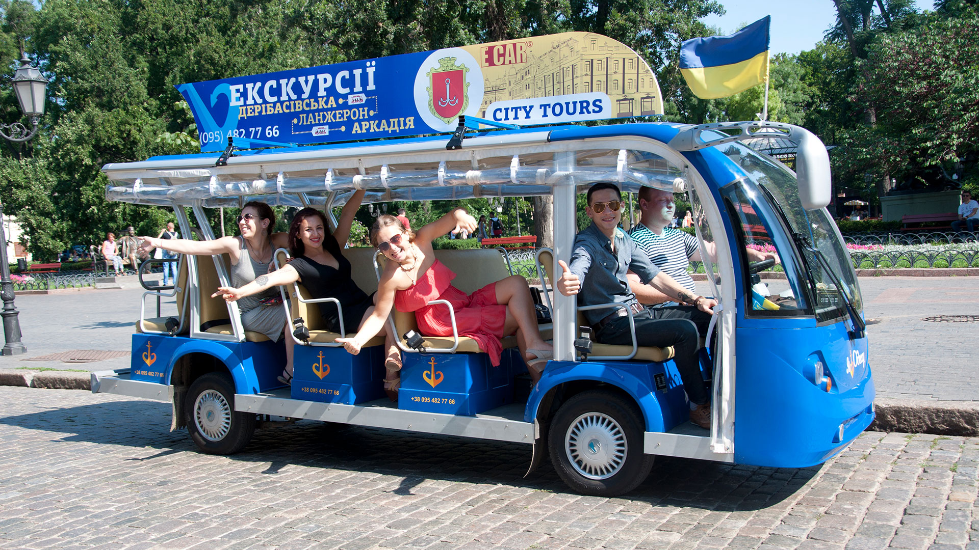Comfortable excursions in Odessa