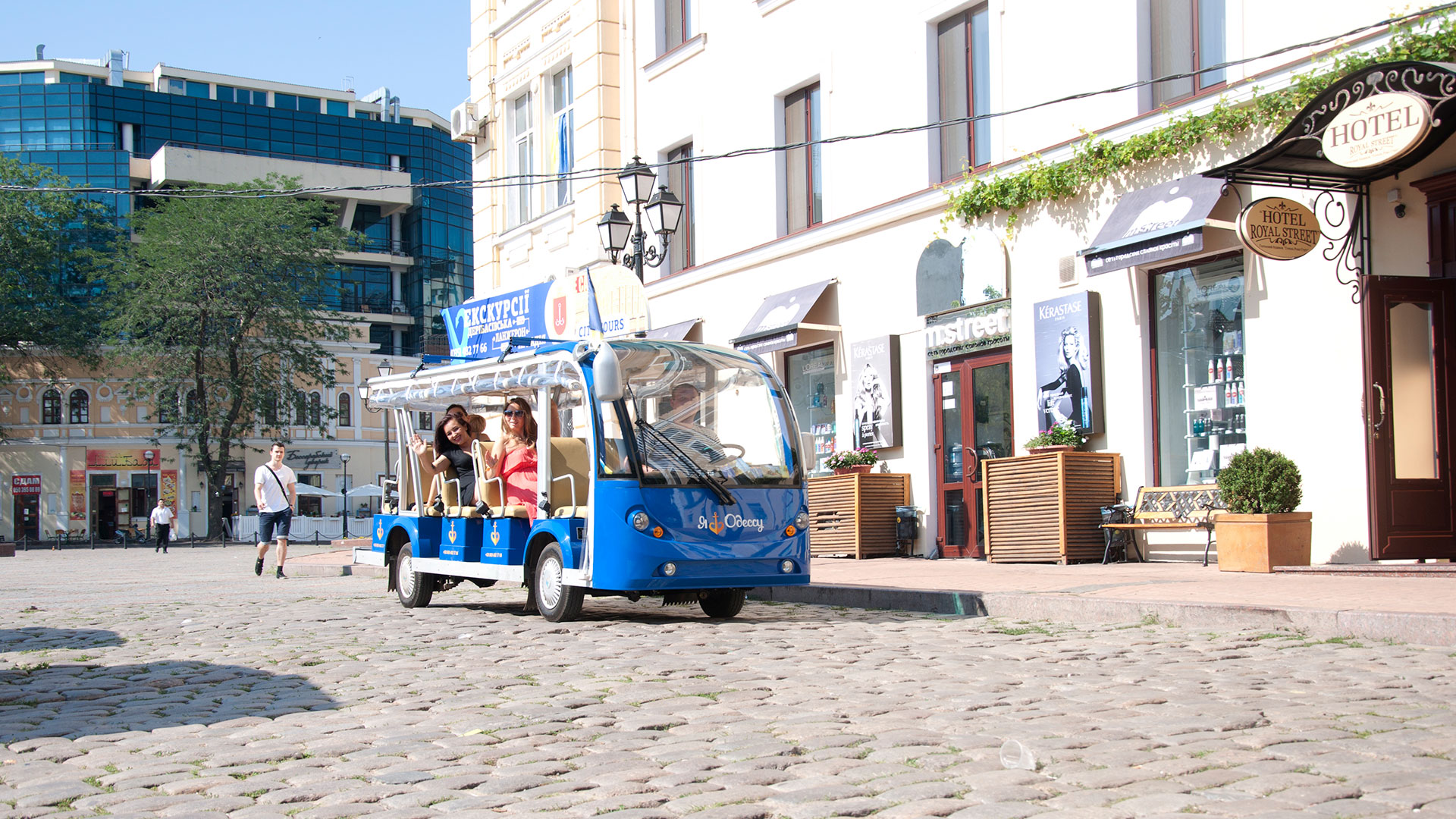 Sightseeing tour of Odessa with a professional guide