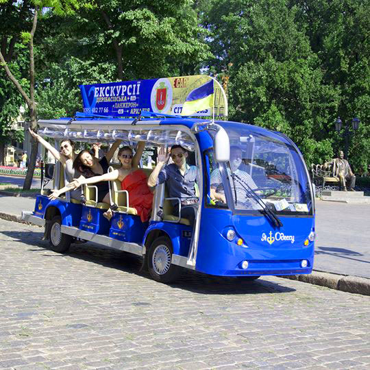 Blue route Excursions in Odessa - CityTours.org.ua