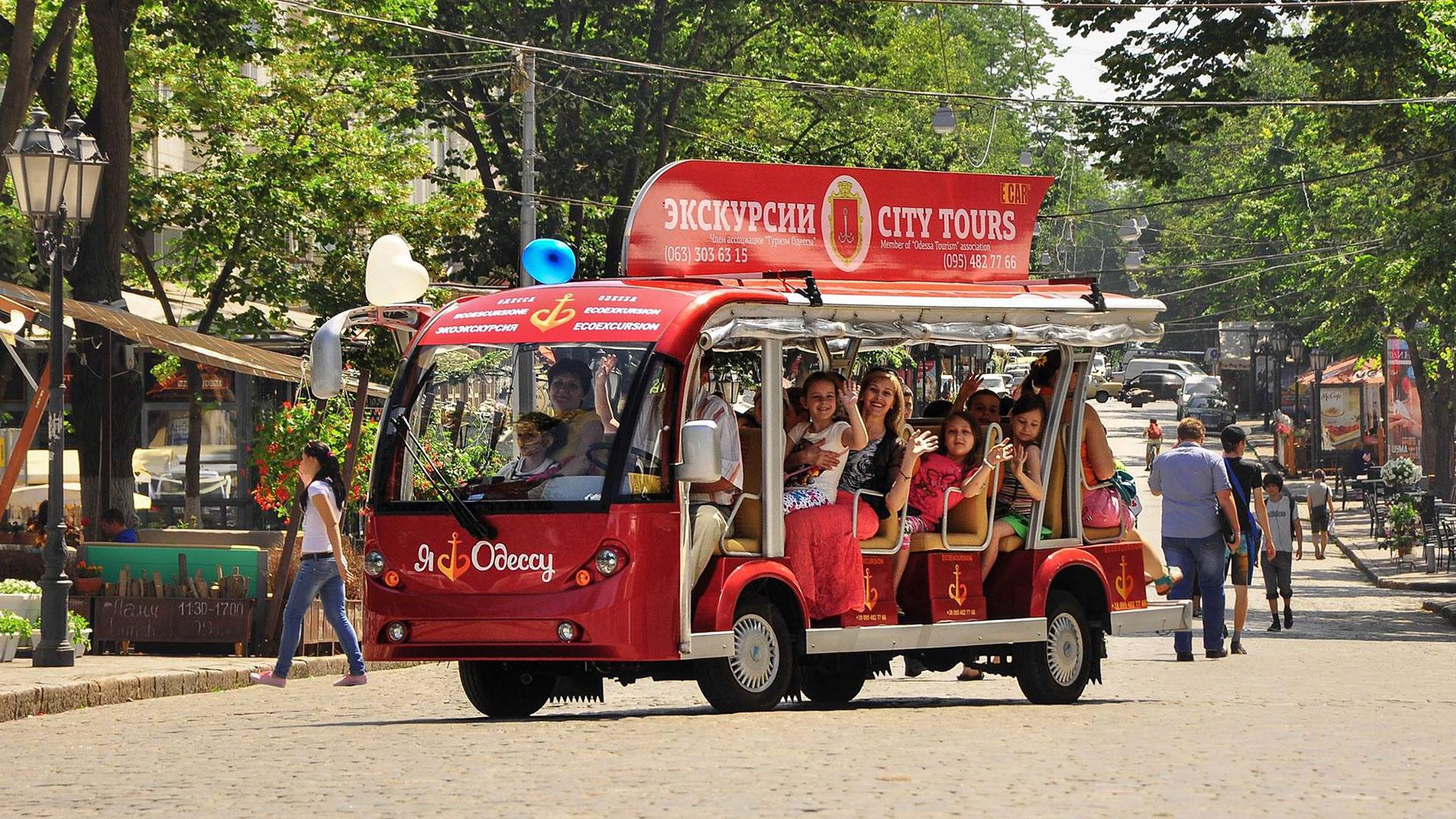 City Tour Odessa - Pearl Tours