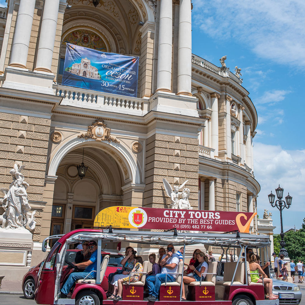 Sightseeing tour of Odessa + Opera House