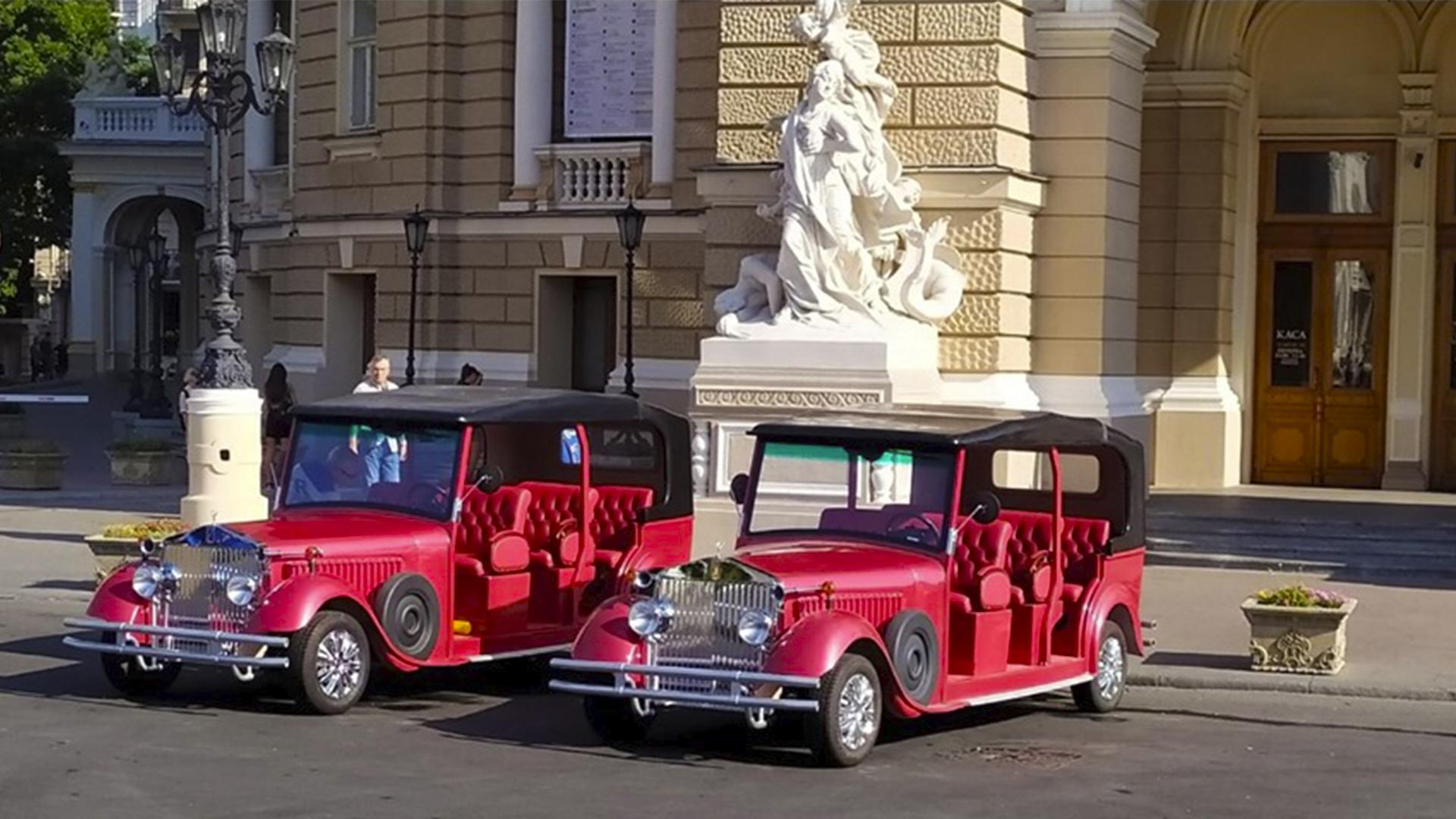 Оглядова екскурсія по Одесі і Оперний театр