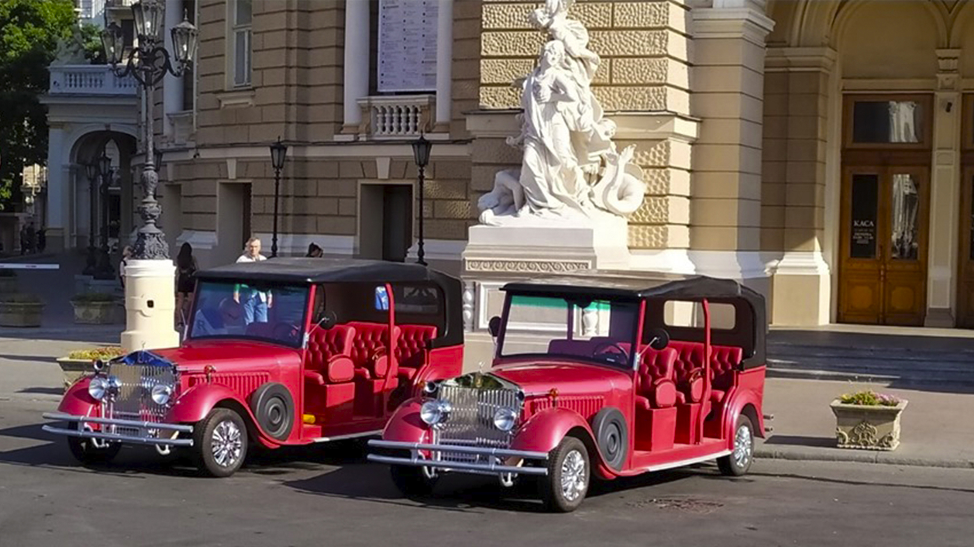 Sightseeing tour of Odessa and the Opera House